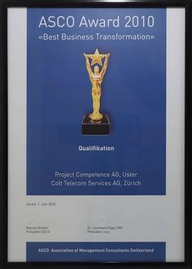 ASCO Award 2010
