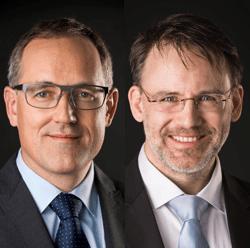 Markus Hegi & Dan Bausch Digitale Transformation, Security, Data Management
